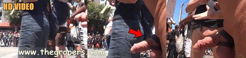Flashing dick public